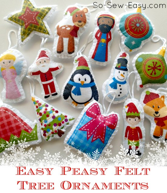 Christmas tree decorations packs