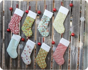 Christmas stockings tutorial