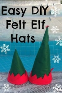 DIY Felt Elf Hat
