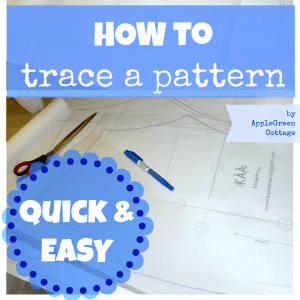 How to trace a pattern