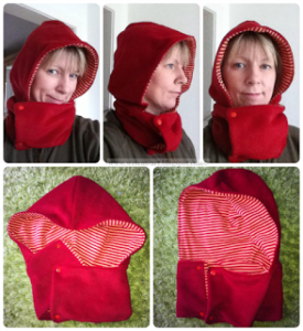 Hooded cap pattern