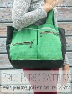 Winter purse pattern