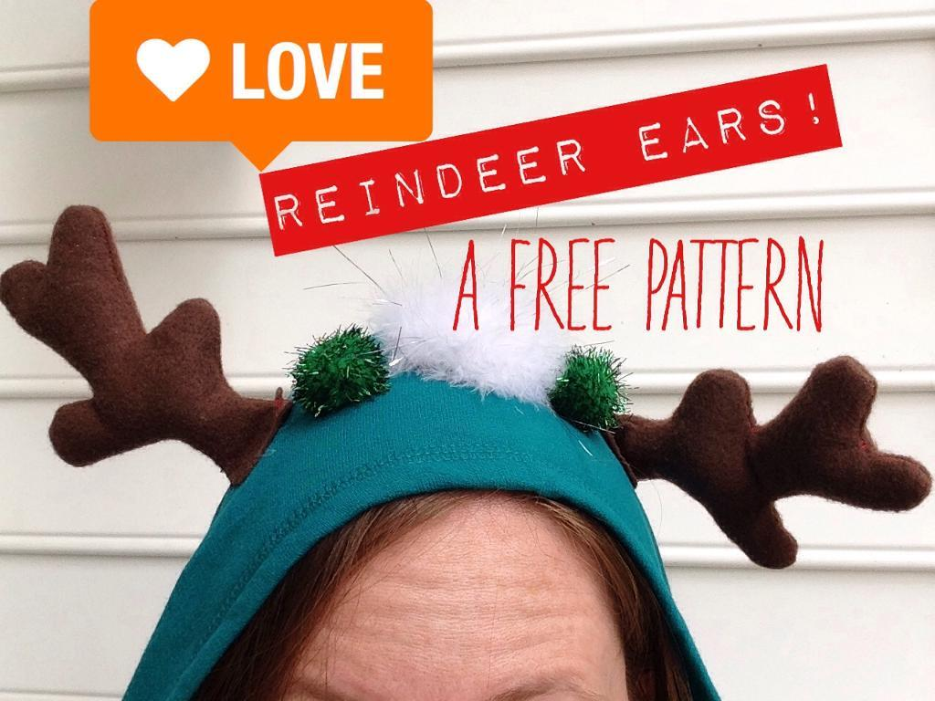 Reindeer ears pattern