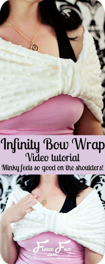 Bow infinity wrap