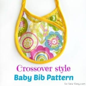 Crossover bib pattern