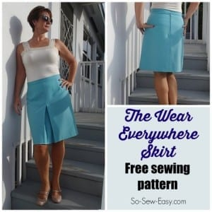 Everyday skirt pattern
