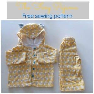 Free pajama pattern