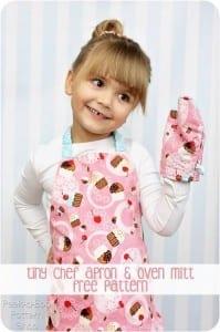 Toddler apron pattern
