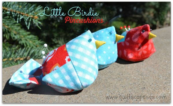 Bird pincushion tutorial