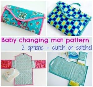 Baby changing mat pattern