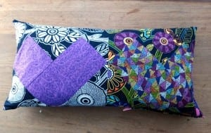 Bolster pillow cover pattern