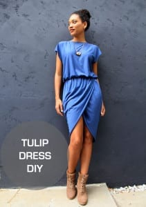 Tulip dress tutorial
