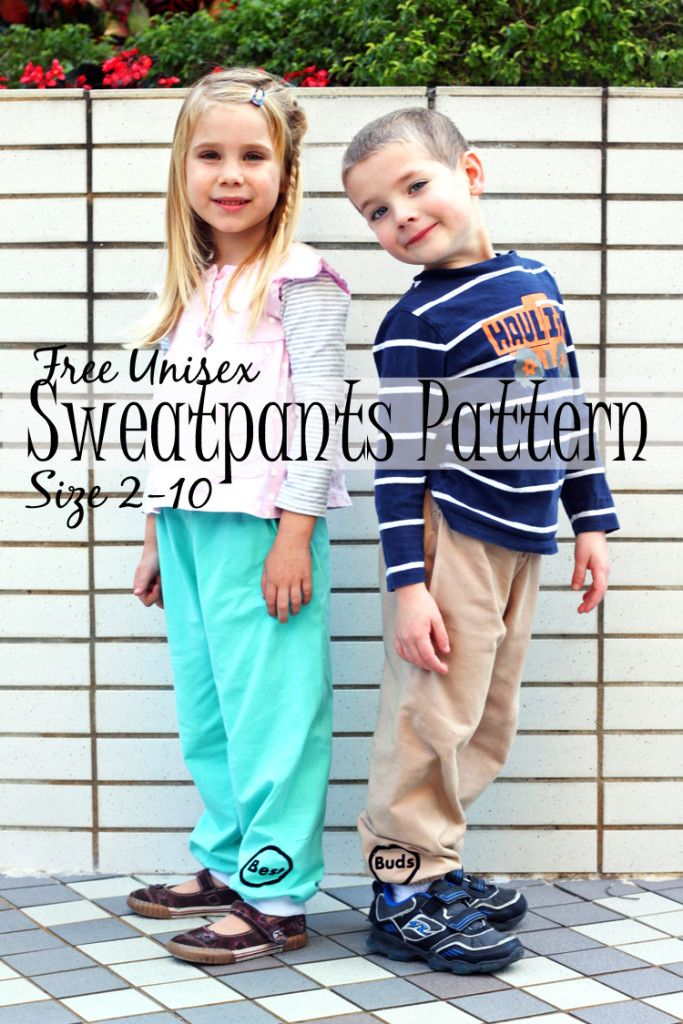 Sweatpants pattern