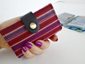 Man credit card wallet