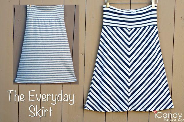 Everyday skirt tutorial