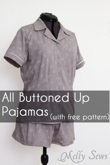 Ladies pajama top pattern