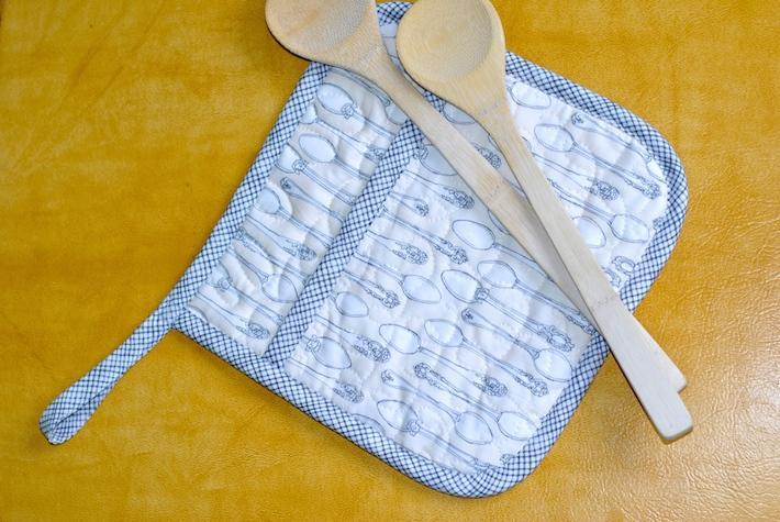 Quilted Pot Holder pattern free