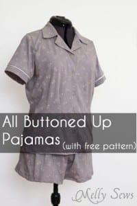 Ladies pajama top pattern