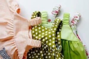 Summer baby dress pattern