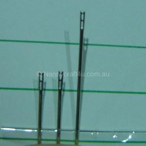 Cheater needle