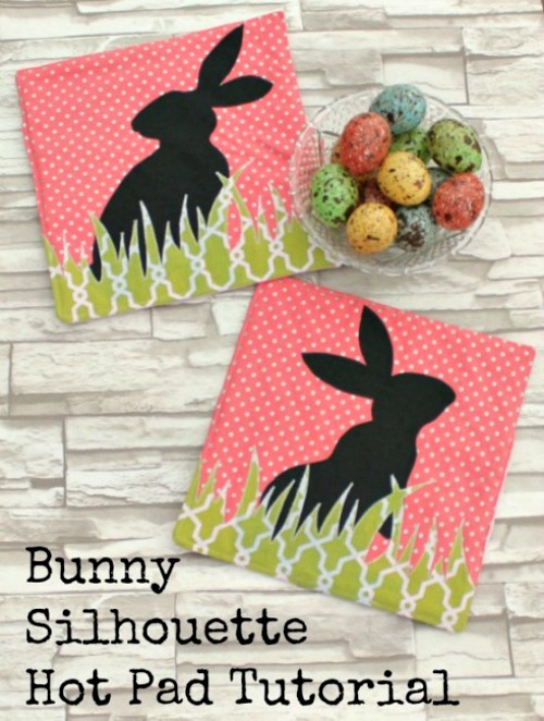 Bunny hot pad tutorial