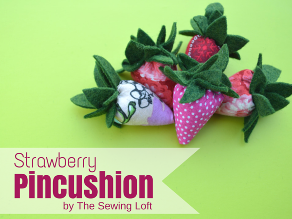 Strawberry pincushion pattern