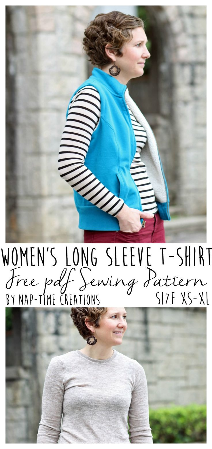 Women's t shirt pattern