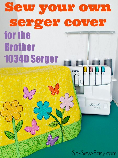 Case for Brother 1034d serger