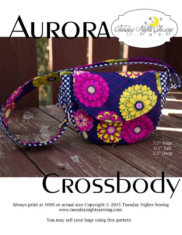 Crossbody purse pattern