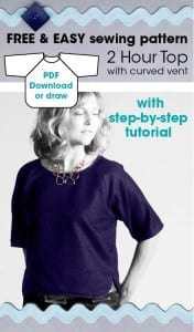 Quick and easy top pattern