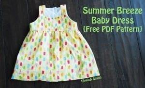 Summer Breeze Baby Dress pattern