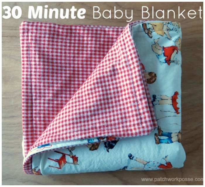 30 Minute Baby Blanket