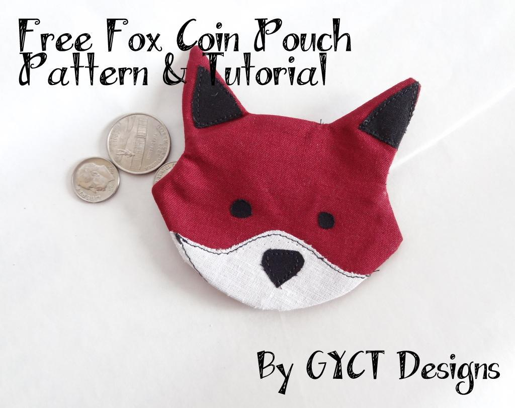 Fox Coin Pouch pattern