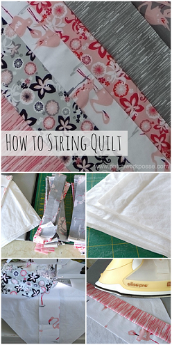 How to Sew a String Quilt
