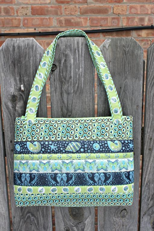 Arabesque bag pattern