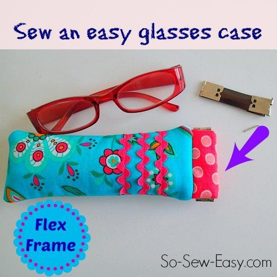 Flex Frame Glasses Case tutorial