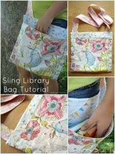Library bag tutorial