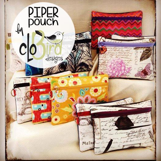 Piper pouch pattern