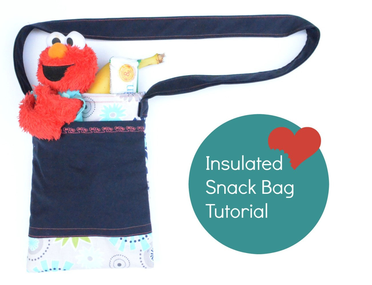 Insulated snack bag pattern