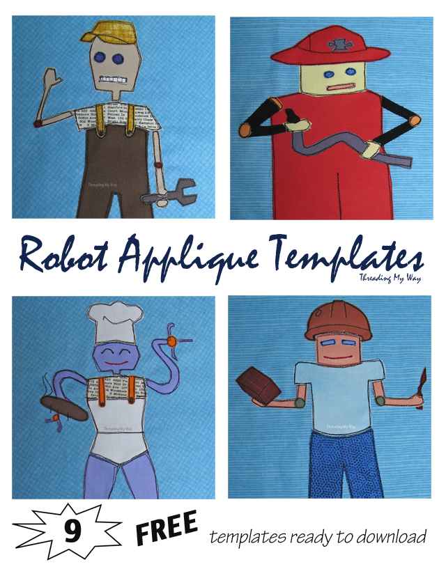 Robot applique pattern