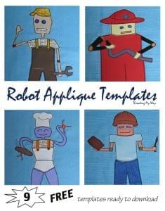 Robot applique pattern