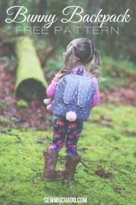 Toddler backpack pattern