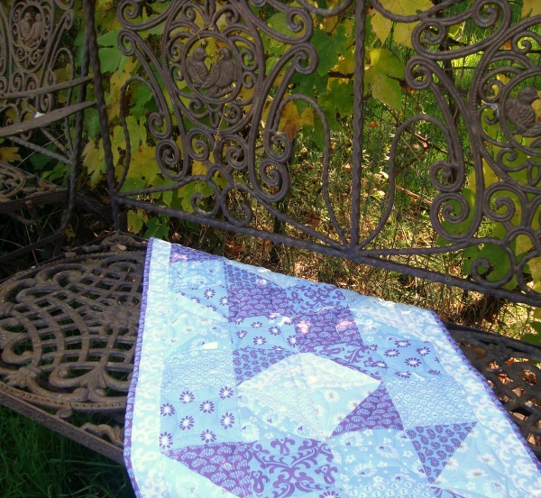 Table runner quilt tutorial