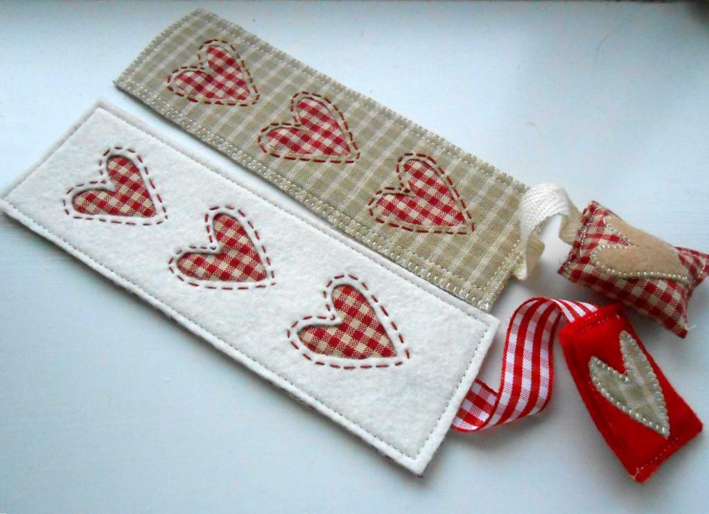 Heart Bookmark pattern