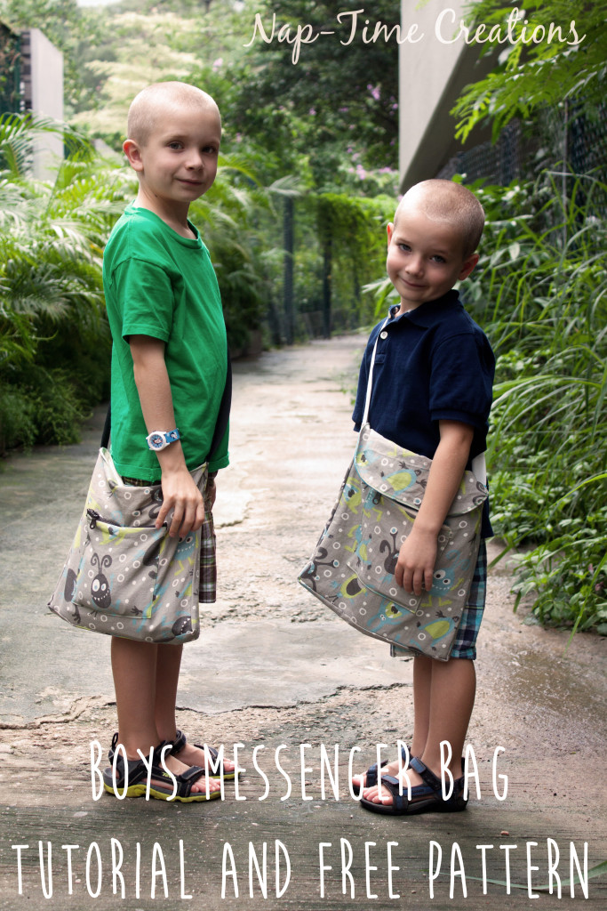 Boys messenger bag pattern