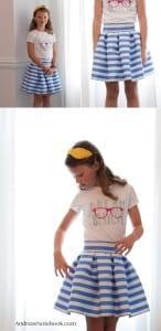 Pleated dreamer skirt pattern