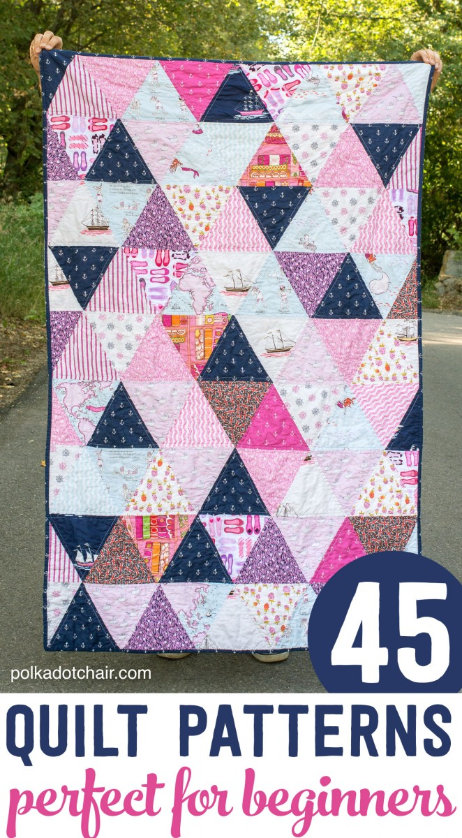 Beginner quilt patterns and tutorials