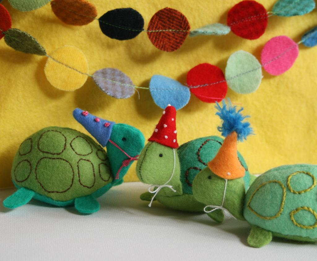 Party Turtles tutorial