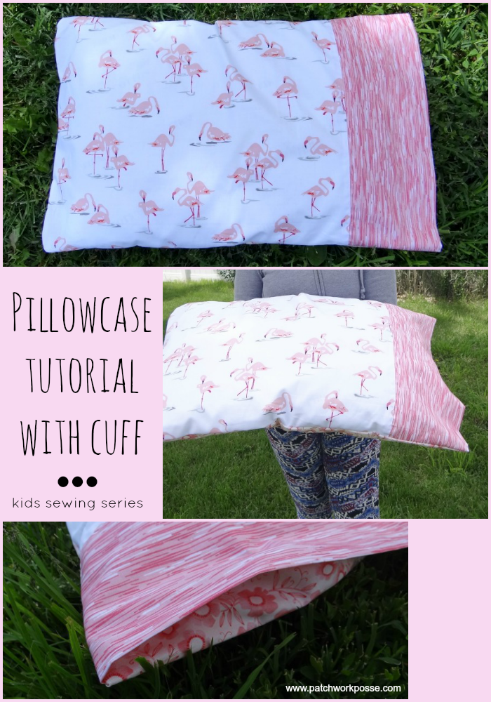 Pillowcase with cuff tutorial