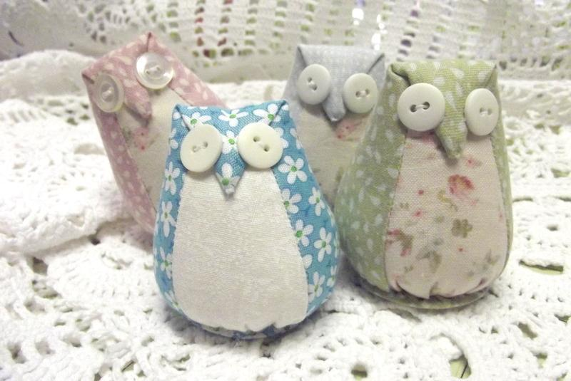 Owl pincushion pattern